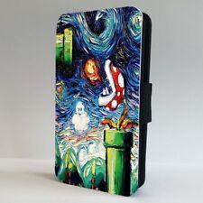 Super Mario Bros Nintendo Van Gogh FLIP PHONE CASE COVER for IPHONE SAMSUNG