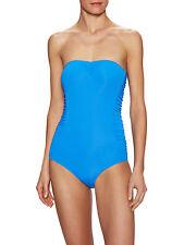 Melissa Odabash Sydney Blue One Piece Swimsuit $216 Retail Size 38 Italy NEW