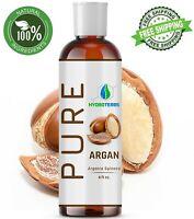 Argan Oil 4 oz of Morocco 100% Pure Unrefined Virgin Moroccan For Hair Skin Face