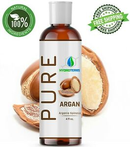 Argan Oil 4 oz of Morocco 100% Pure Unrefined Virgin Moroccan For Hair Skin Face