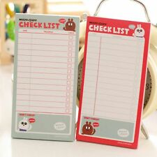 Notebook Memo Pad Page Marker Rabbit Sticky Note Planner Check List