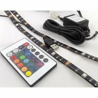 USB LED Strip Flexi TV Backlight 2 x 50cm Remote Control IP65  LED Strip