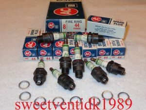 AC-44 Spark Plugs.....FIRE RING......1559492.....NOS