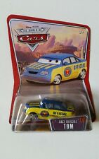 CARS Disney pixar cars RACE OFFICIAL TOM mattel WOC n 57 raro scala 1:55 maclama
