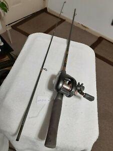 Baitcasting fishing Rod Shakespeare 6'médium and MITCHELL Baitcasting reel...