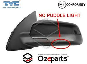 LH LHS Left Hand Electric Door Mirror Black 3Pins For Holden Commodore VE 06~13