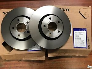 Genuine Volvo Front Brake Disc Pair of 31471819  16 inch 300mm   S40 C30