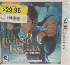 Nintendo 3DS Nichelodeon's The Legend of Korra A New Era Begins Rated E 10+ Game