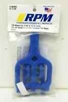 Radio Control RPM T/E-Maxx TMAXX EMAXX ARMS 2.5  2.5R 3.3 A-Arms BLUE 80465 NIP