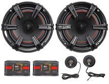 "MB Quart XC1-216 X-Line 6.5"" 180 Watt Car Audio Component Speakers System"