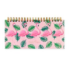 Flamingo Weekly Planner 80 Leaves Of Weekly Organiser - Go Stationery