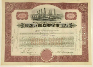 Houston Oil Company of Texas > 1945 stock certificate