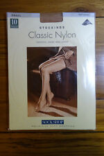Sock Shop 10 Denier Classic Nylon Stockings S Natural