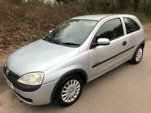 2002 VAUXHALL CORSA - AUTOMATIC - 2 OWNERS - LONG MOT - SPARES OR REPAIR
