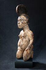 Igbo Kneeling Female Figure, Nigeria, West African Tribal Art
