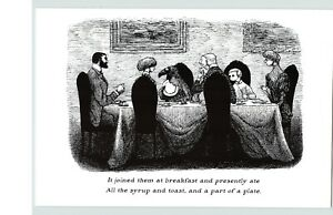 "EDWARD GOREY The Doubtful Guest From The Same 10""x 15"" Wall Art Poster Book Page"