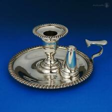 ELKINGTON & Co SILVER PLATE CHAMBER CANDLESTICK VICTORIAN 1880