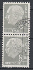 BRD 1954 Mi. Nr. 182 senkrechtes Paar gestempelt (18308)