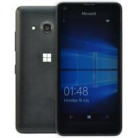 Microsoft Nokia Lumia 550 Black Unlocked 4G Windows 10 Phone 8GB Smartphone
