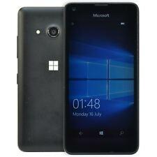 MICROSOFT Nokia Lumia 550 Nero Sbloccato Telefono Windows 10 4G 8GB Smartphone