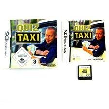 NINTENDO DS Jeu QUIZ TAXI emballage d'origine avec manuel