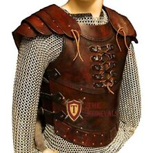 Medieval Genuine Leather Vest 4mm leather Armor larp armor sca costumes dress