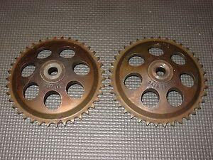 SAAB Camshaft Sprocket Set 900 9000 9-3 9-5 750012 Timing Chain Cam Sprockets