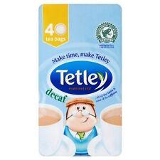 6 x 40 Tetley Decaf  Tea Bags Decaffeinated 240 TeaBags Brand New