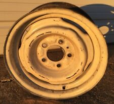 Chevy Factory 15x6 Steel Wheel Rim Single Original Vintage C10 Truck Van J15358