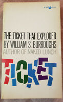 *SIGNED* WILLIAM S. BURROUGHS - THE TICKET THAT EXPLODED SC   BEAT GEN QUEER NAK