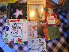 Lot of 9 Christmas books - Yesteryear Treasury Trees Merry Christmas - NATLOT