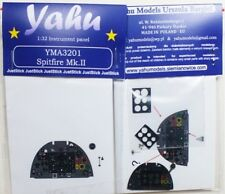 Yahu Models YMA3201 1/32 Spitfire Mk. II Instrument Panel for Revell