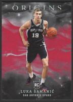 2019-20 Panini Origins RED #2 Luka Samanic RC Rookie Card San Antonio Spurs