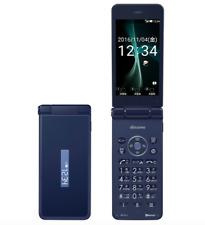 Docomo Sharp Sh-01J Aquos Keitai 2 Japan Android Flip Phone Unlocked New Blue Bk