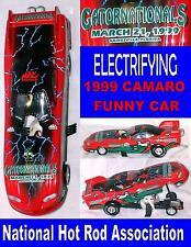 Diecast Camaro Funny Car NHRA Collectors Scale 1:24 1999 GatorNationals Excelent