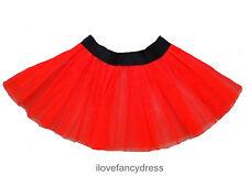 TUTU NETTED UNDERSKIRT DANCE GIRLS NEON FANCY DRESS