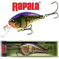 "Rapala Purple Olive Craw 2.75"" Fishing Crankbait Fishing Lure (DT14 POWC)"