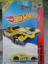 Hot Wheels 2014 #153/250 FORMUL8R yellow HW RACE Batch H Long Card