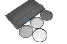 77mm ND2+ND4+ND8 + CPL Circular Polarizing Filter ND Kit Set with FREE CASE