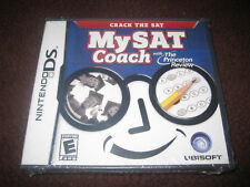 MY SAT COACH NINTENDO DS DS LITE GAME BRAND NEW