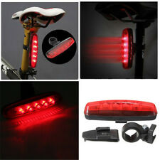 5 LED Waterproof BIKE BICYCLE Accessories REAR Back TAIL LIGHT LAMP Taillight