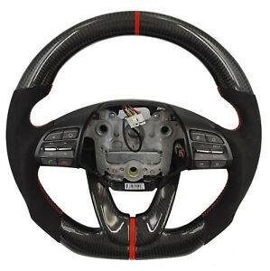 Carbon Lenkrad für Hyundai I30 Veloster i 30 Tausch Alcantara carbonfiber wheel