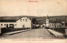 CPA FRAIZE Le Pont de la Forge, l'Abattoir, l'Eglise (401389)
