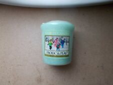"Yankee Candle Usa Exclusive Rare In A Winter Wonderland ""Frolic & Play"" Sampler"