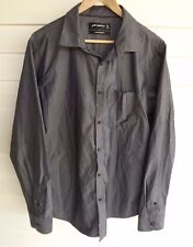 Peter Morrissey Men's Grey Long-Sleeve Shirt / Top - Size XL