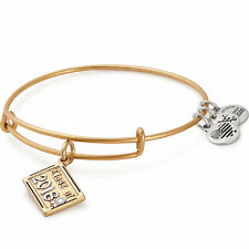Alex And Ani Class Of 2018 Gold Charm Bangle A18Eb03Ttrg