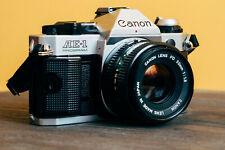 Canon AE-1 Program w/ Canon FD 50mm 1:1.8 + Fujicolor Superia X-TRA 400
