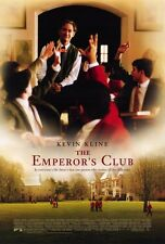 THE EMPEROR'S CLUB Movie POSTER 27x40 Kevin Kline Emile Hirsch Embeth Davidtz