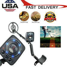 Waterproof LED Metal Detector Sensitive Search Gold Digger Hunter All Metal NEW