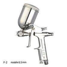 pneumatic air tool mini spray paint gun F-2 nozzle 0.5mm for furniture toy etc